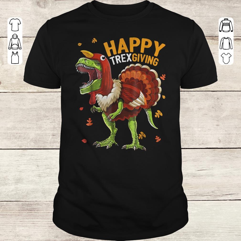 Premium Happy Trexgiving shirt Classic Guys / Unisex Tee