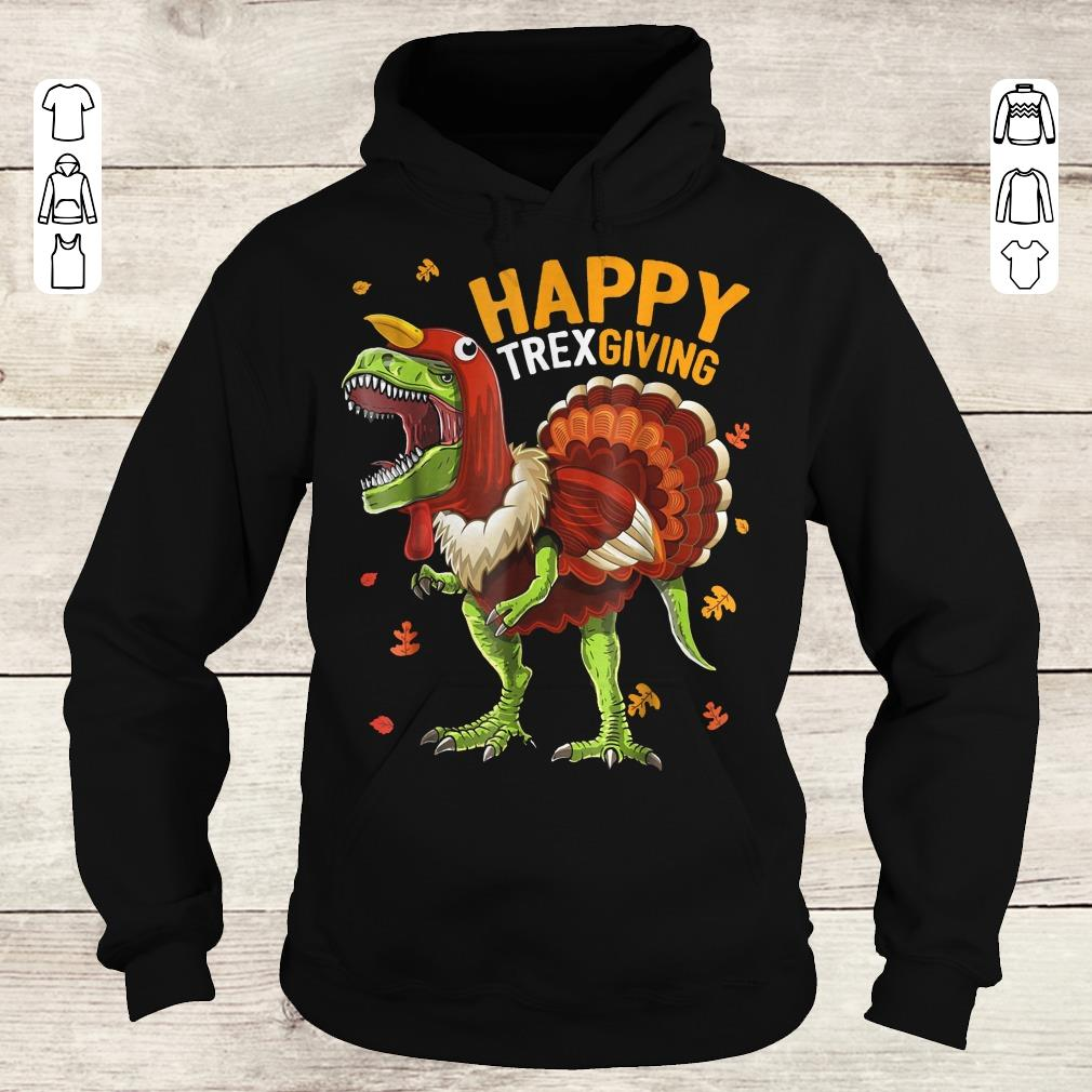 Premium Happy Trexgiving shirt Hoodie