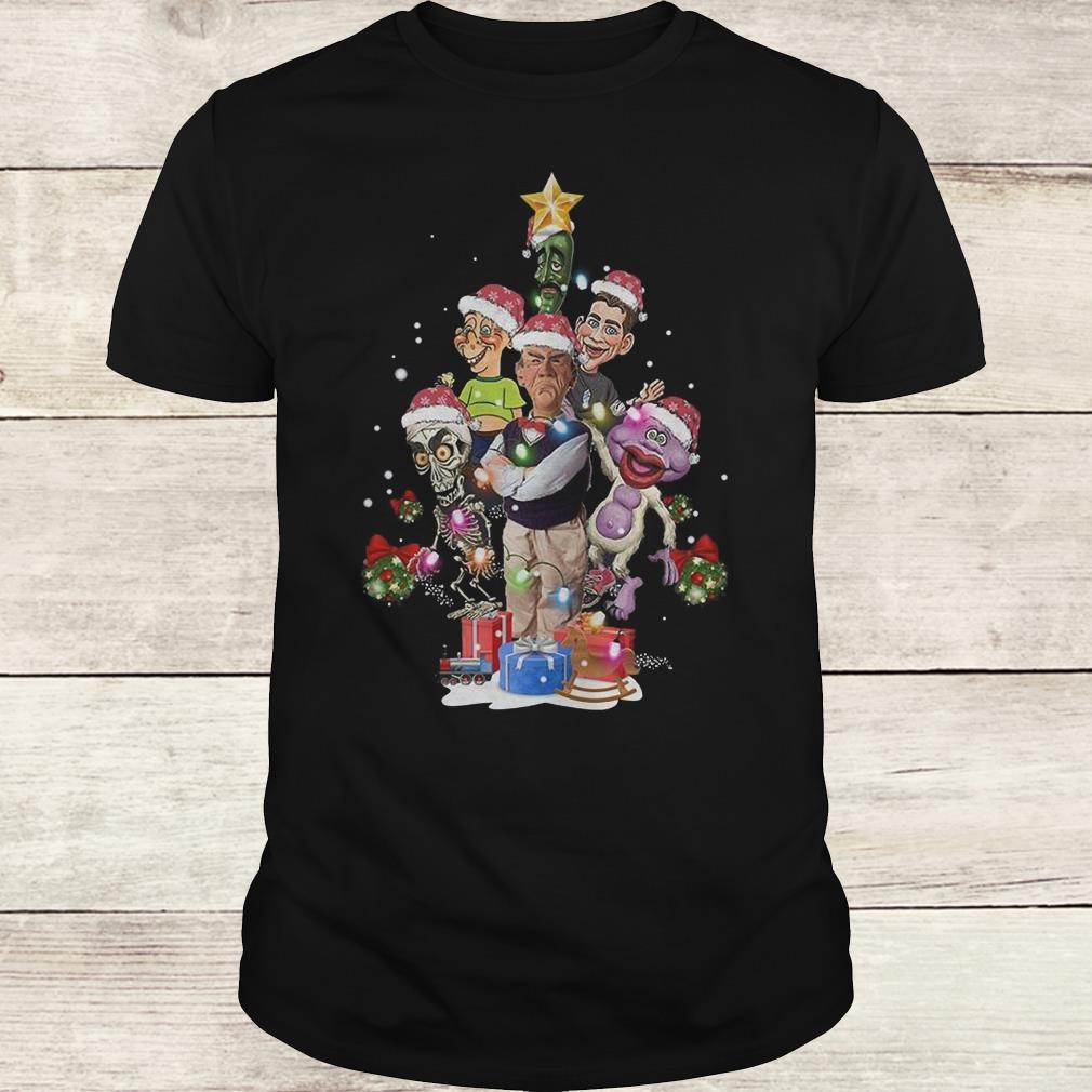 Premium Jeff Dunham Christmas Tree shirt Classic Guys / Unisex Tee