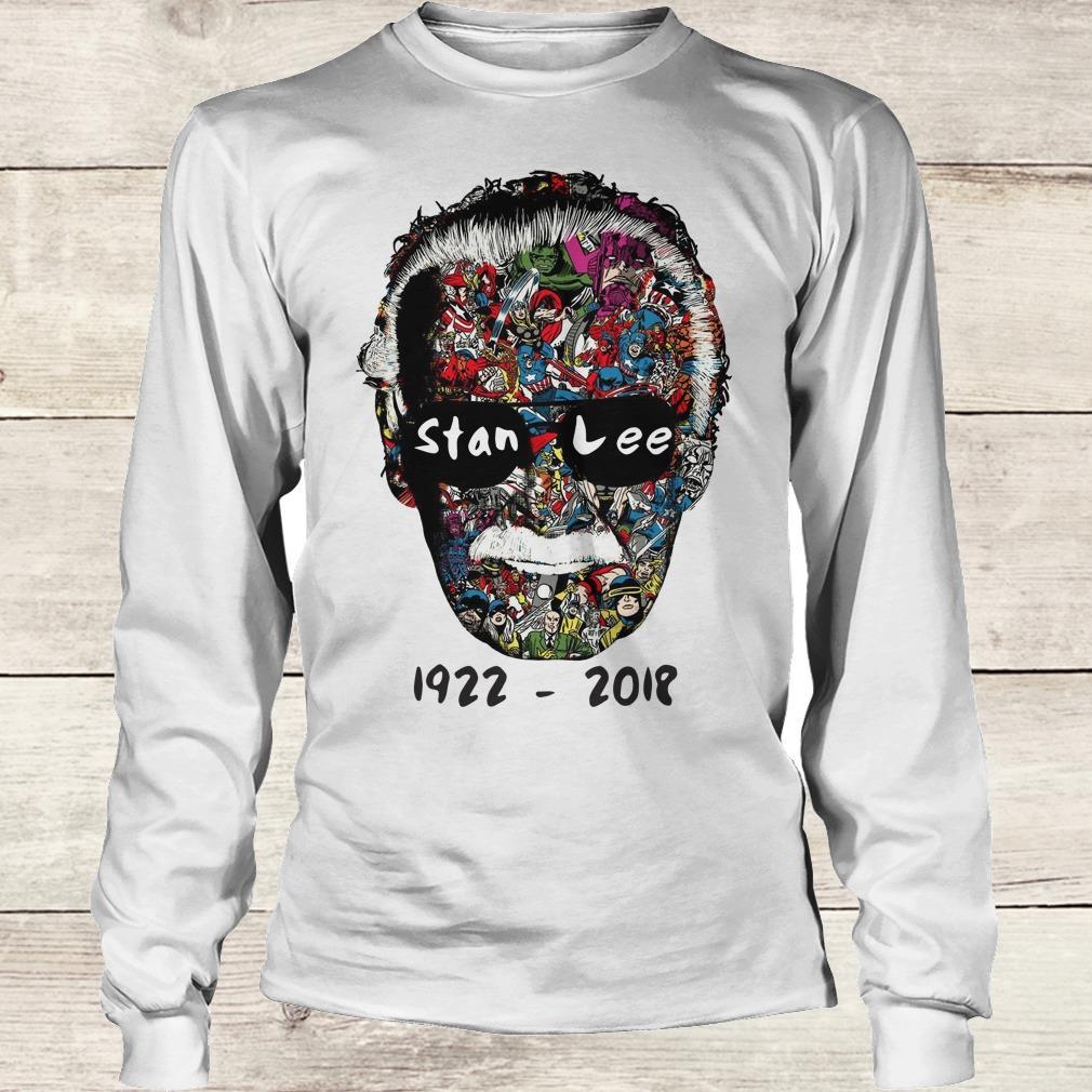 Premium Stan Lee 1922 - 2018 Shirt Longsleeve Tee Unisex
