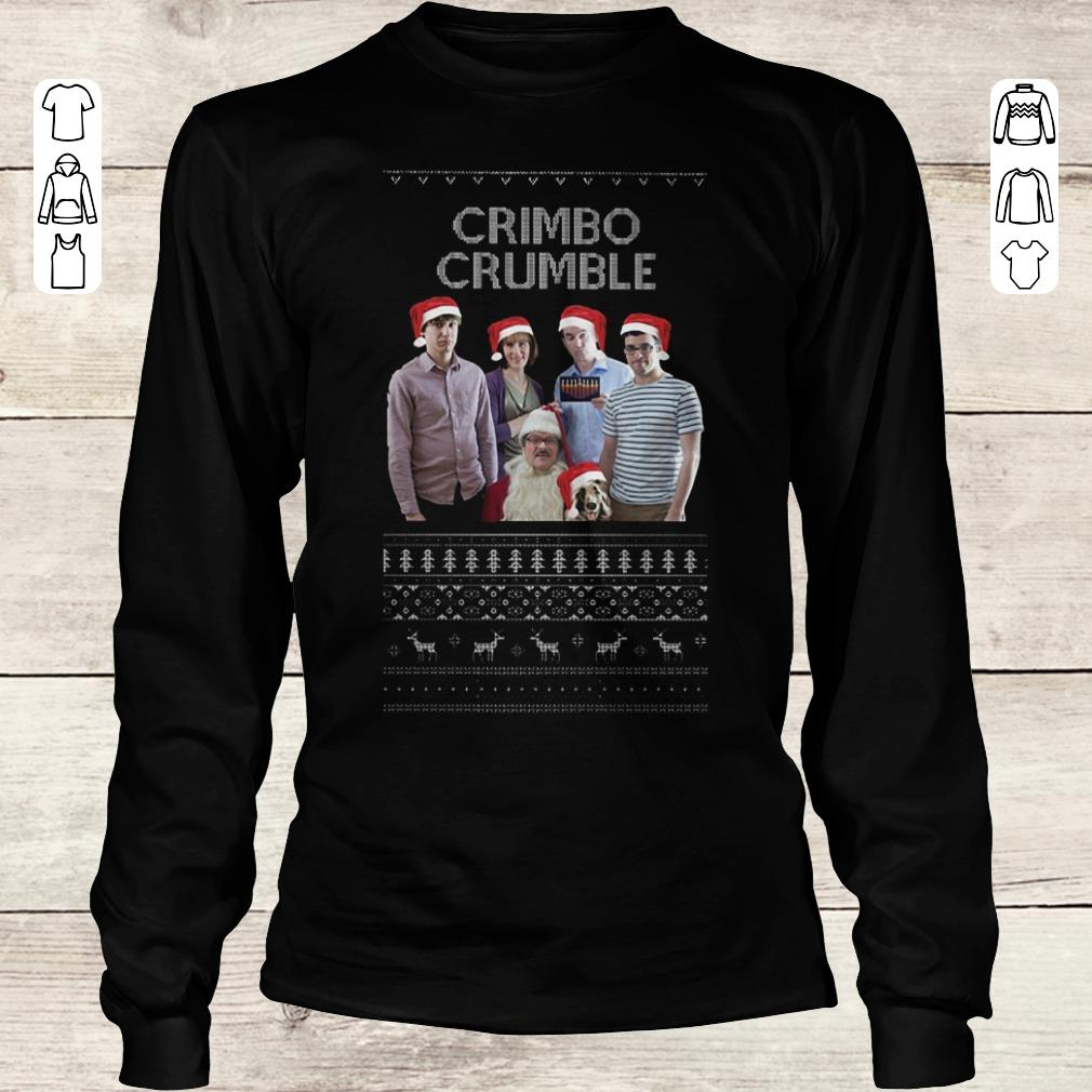 Pretty Friday Night Dinner Crimbo Crumble shirt Longsleeve Tee Unisex