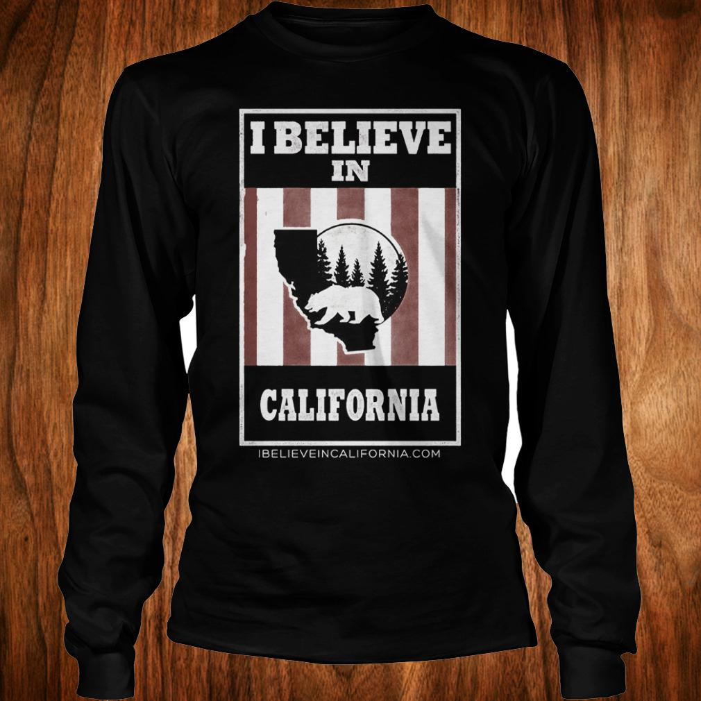 Top Bear I believe in California wildfires Shirt