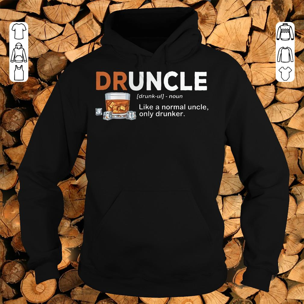 Awesome Druncle definition Shirt hoodie Hoodie