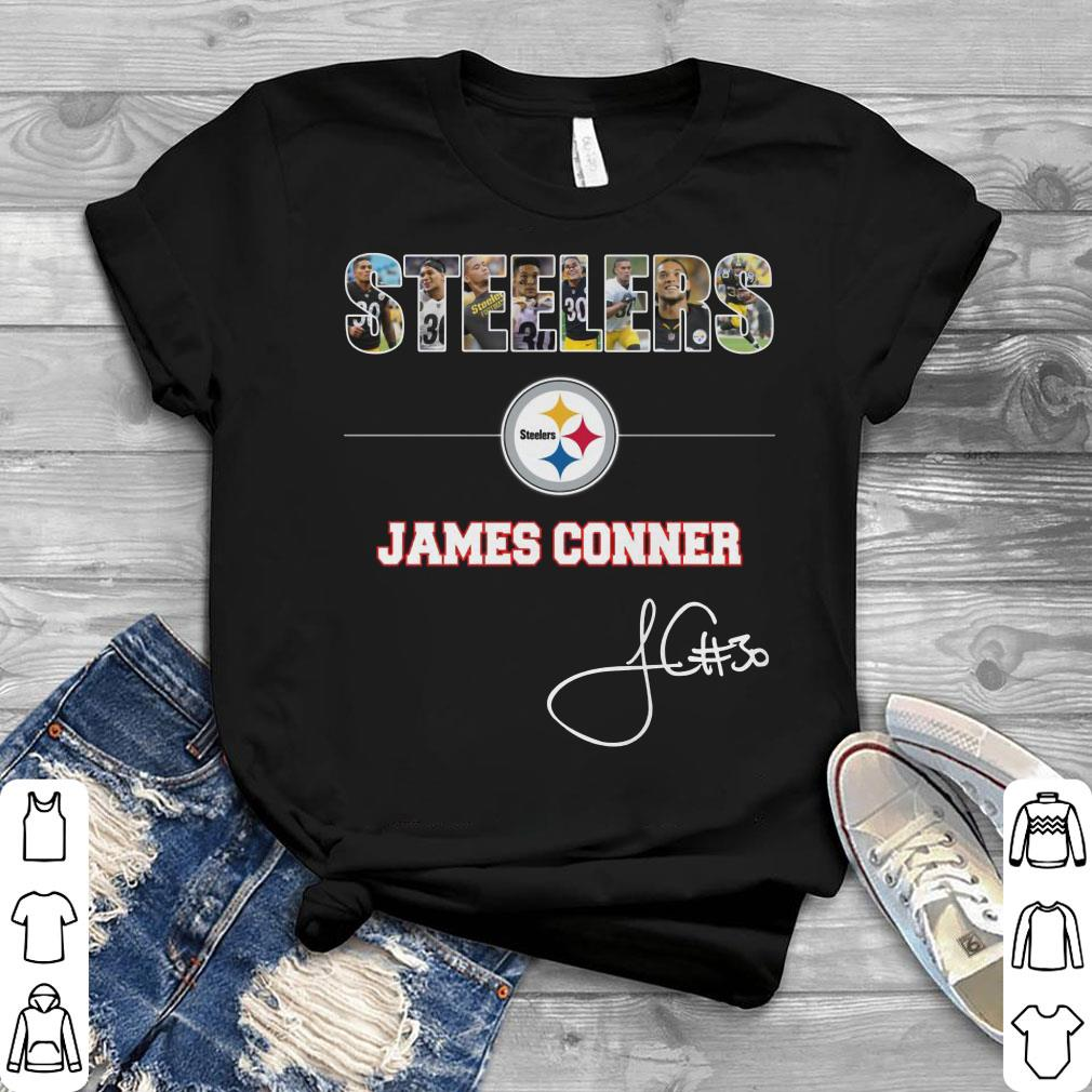 db310818aa0 Awesome Pittsburgh Steelers NFL James Conner Signature shirt, hoodie ...
