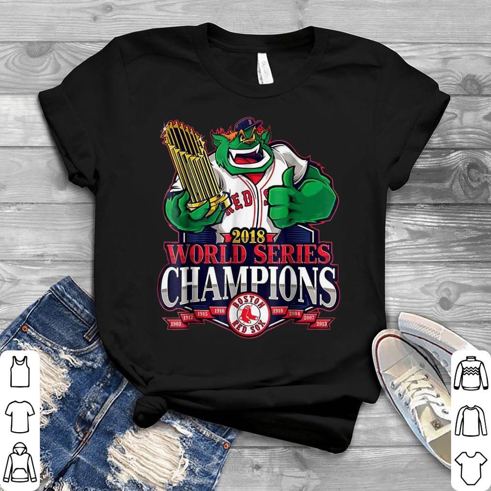 bd2deb0a Official Boston Red Sox 2018 World Series Champions Damage Done shirt