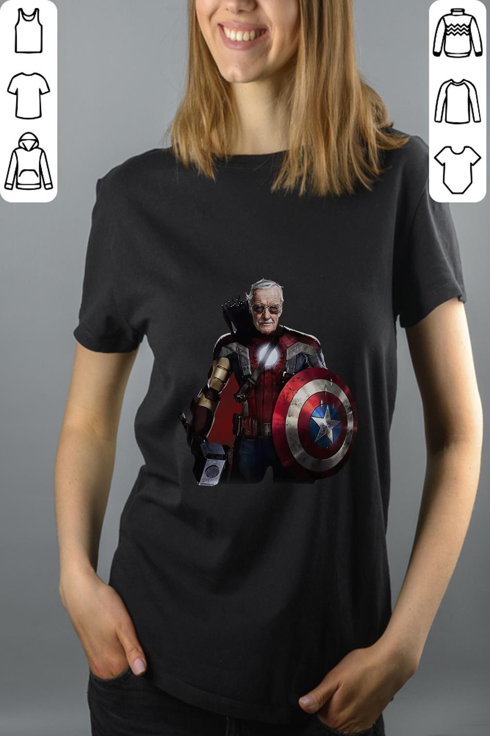 Funny Stan Lee Superhero shirt