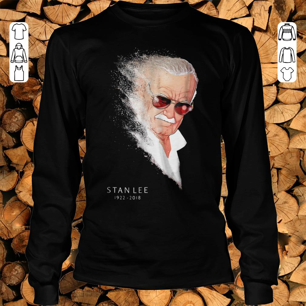 Premium Infinity War Thanos Disintegration Stan Lee shirt sweatshirt Longsleeve Tee Unisex