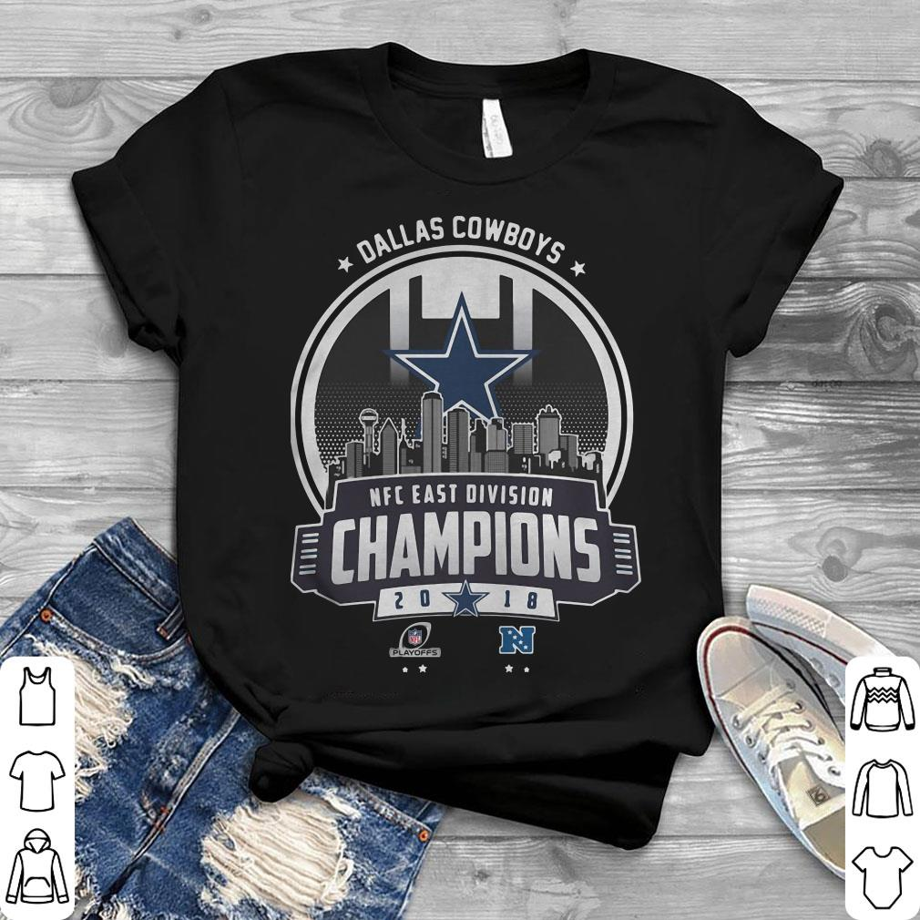 Premium Champions 2018 NFC East Division Dallas Cowboys shirt