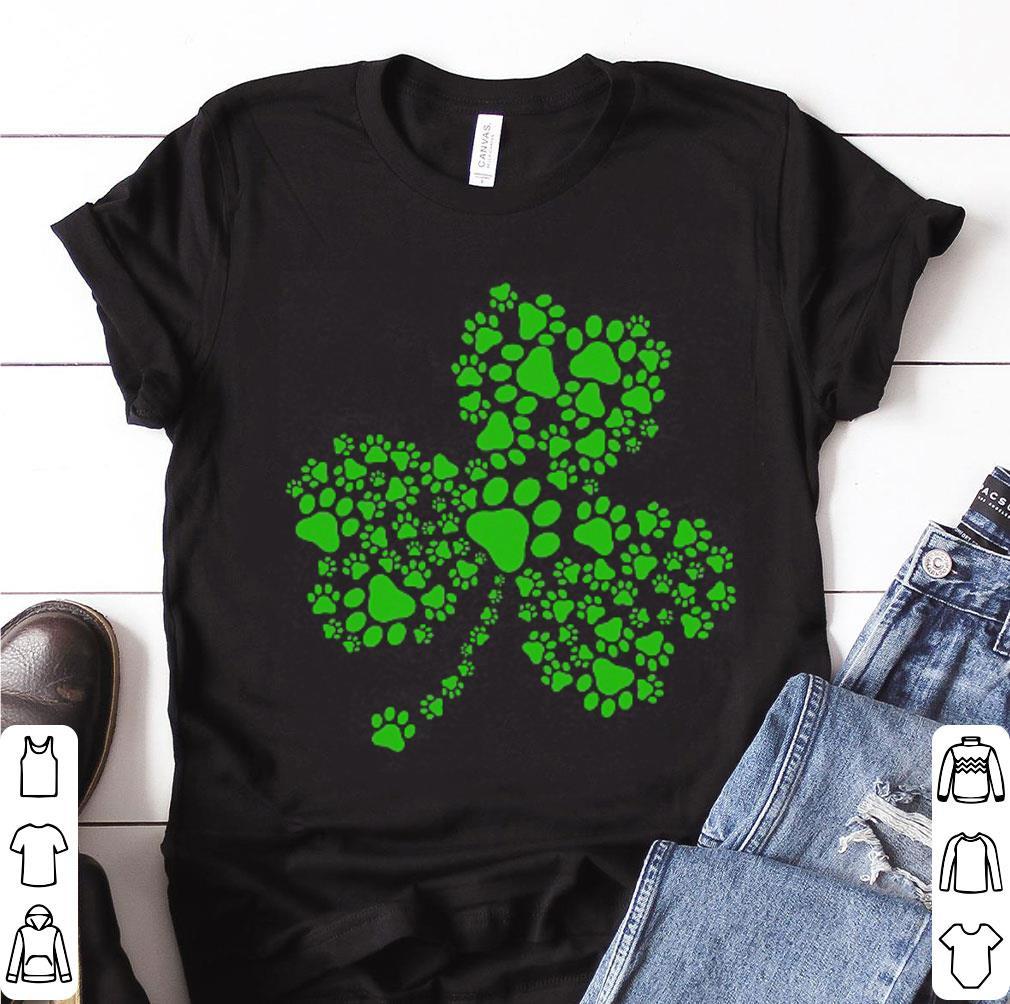 bc9dab07e Awesome Irish Dog Paw St. Patrick's Day shirt, hoodie, sweater ...