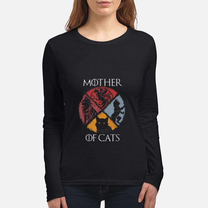 Hot Mother Of Cat Vintage Game Of Thrones shirt