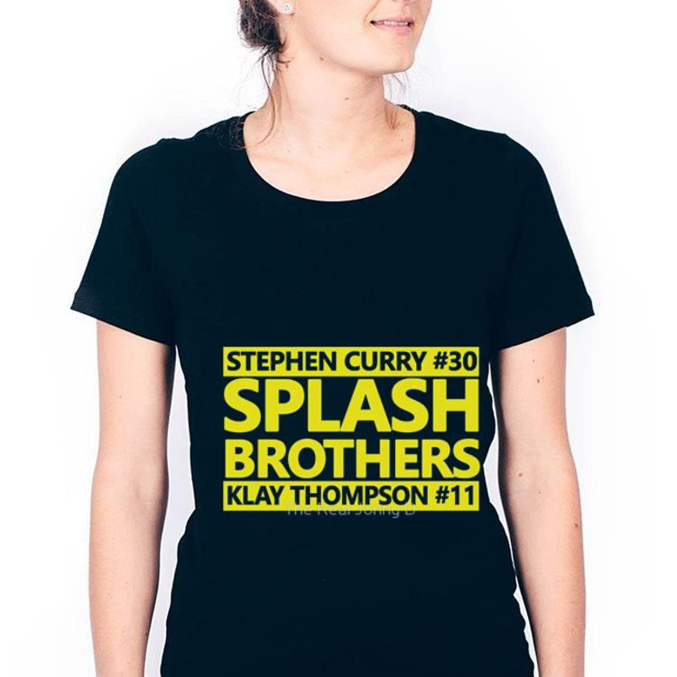 hot sales d583b b80be Official Stephen Curry Splass Brothers Klay Thompson Golden State Warrior  Shirt