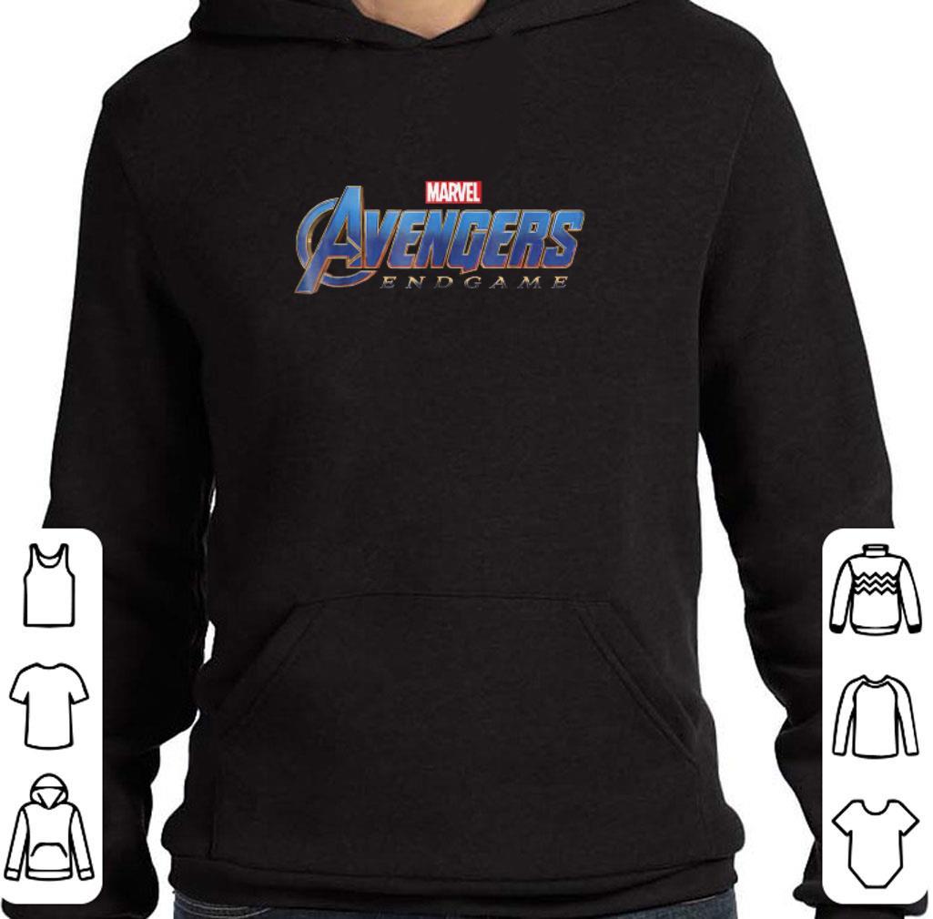 Original Marvel Avengers Endgame logo shirt
