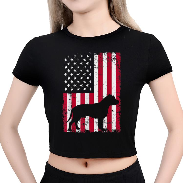 4th Of July Merica Patriotic Flag Usa Pitbull shirt