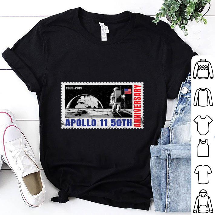 Awesome 1969-2019 Moon Landing Apollo 11 50th Anniversary shirt