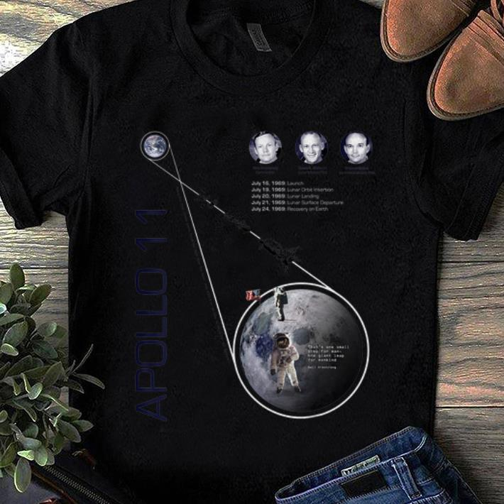 Awesome Apollo 11 First Moon Landing 50 Years Anniversary Neil Armstrong shirt