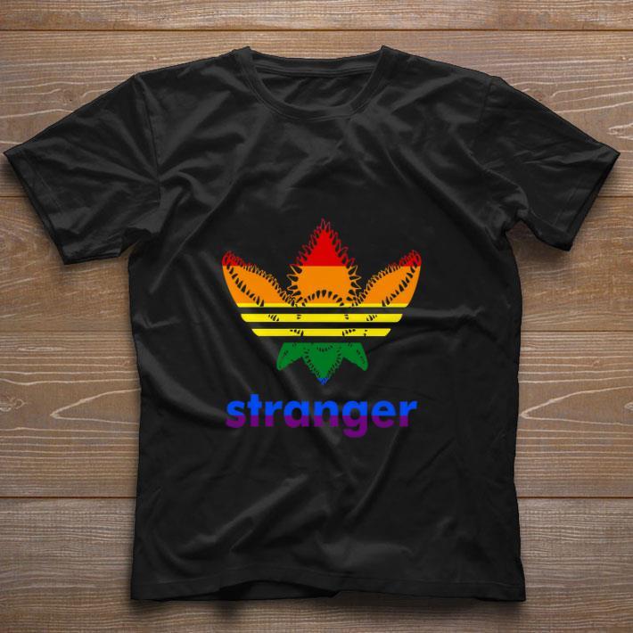 Hot LGBT Adidas Stranger Things shirt