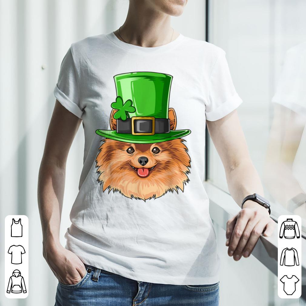 Hot Pomeranian St Patricks Day Irish Leprechaun Pomeranian shirt