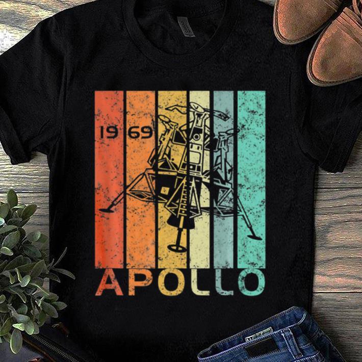 Hot Vintage 50th Anniversary Apollo 11 Moon Landing Astronaut 1969 shirt