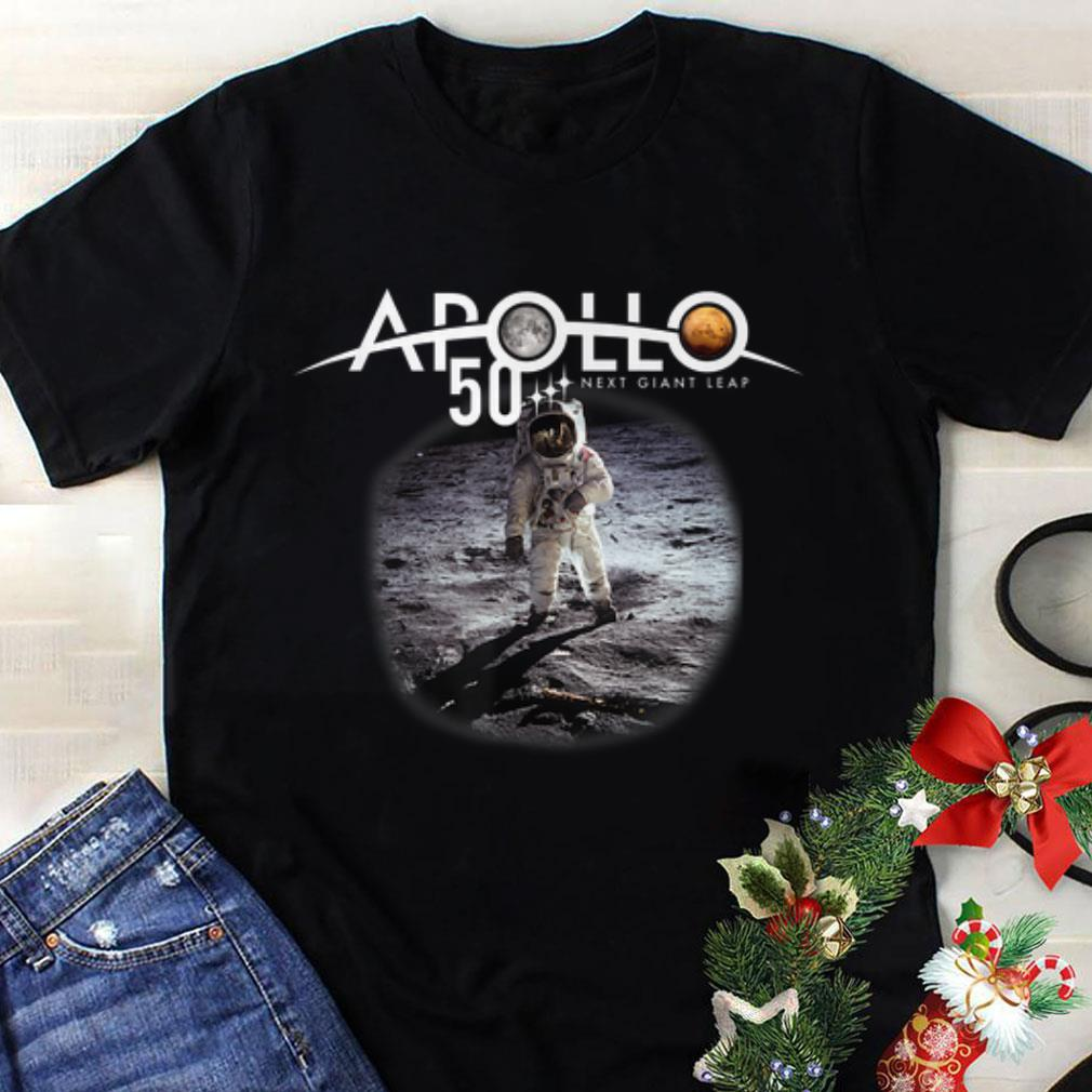 Hot trend Nest Giant Leap Apollo 11 50th Anniversary First Walk On The Moon Astronaut shirt