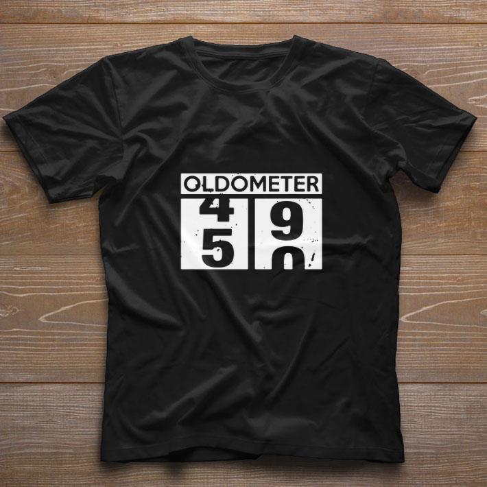 Nice Oldometer 49 50 year old birthday shirt