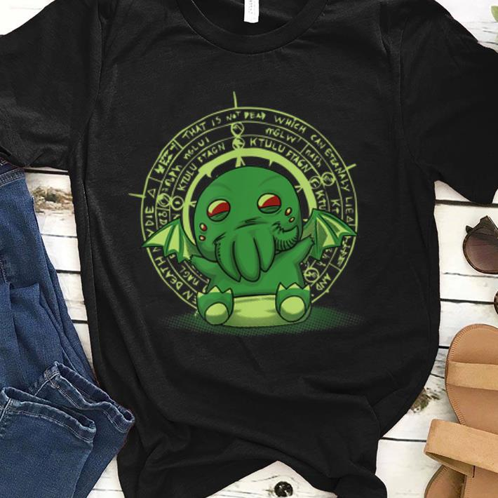 Premium Lovecraft Little Cthulhu Cute Monster Of The Deep Sea shirt