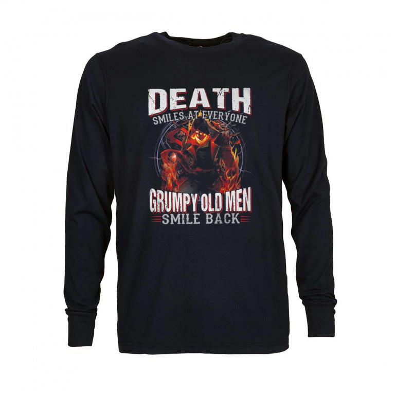 Pretty Death smiles at everyone grumpy old men smile back shirt