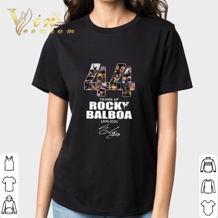 44 Years Of Rocky Balboa 1976 2020 Signature Shirt 3 1.jpg