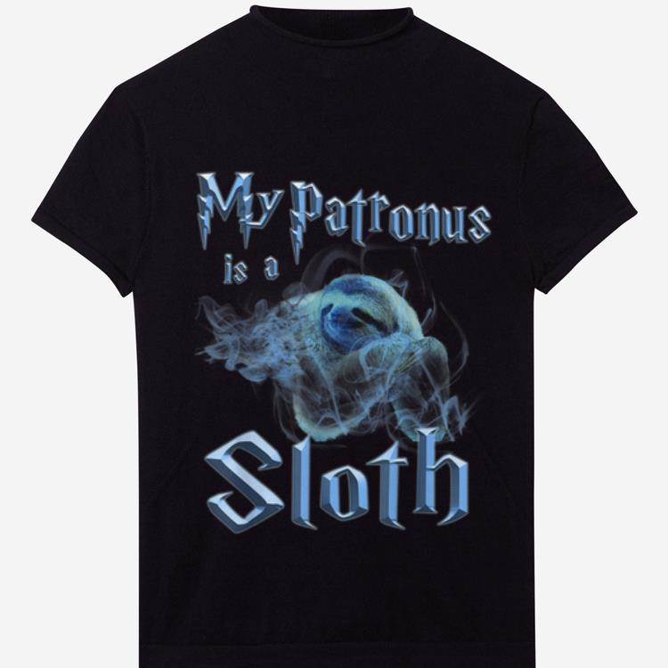 Awesome My Patronus Is A Sloth Wizard Magic shirt