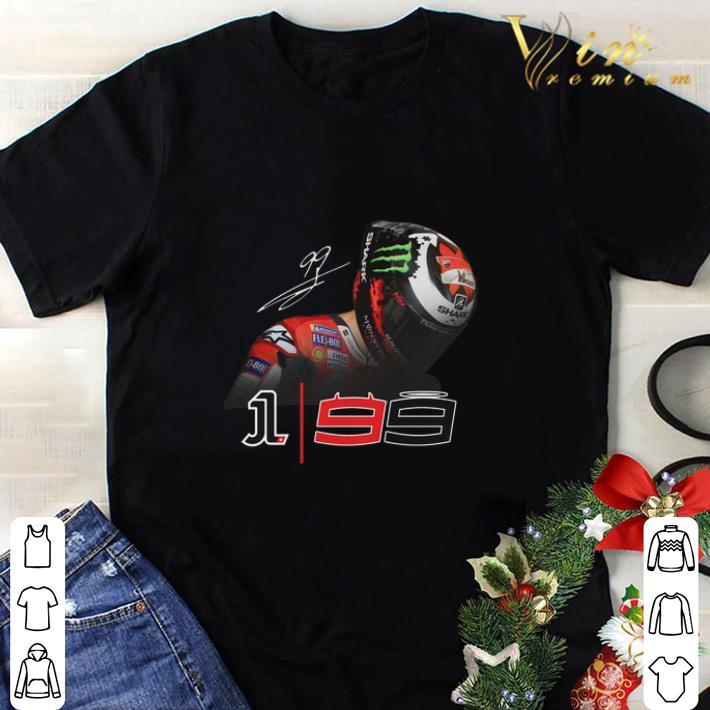 Nice Jorge Lorenzo 99 Monster Energy Signature shirt