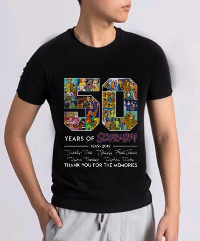 Original 50 Years Of 1969 2019 Scooby Doo Signature Thank You For Memories Shirt 2 1.jpg