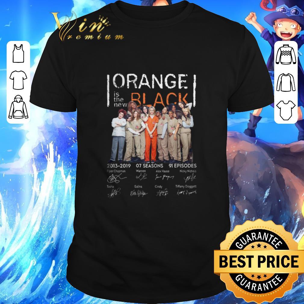 Premium Orange is the new black 2013-2019 07 seasons signatures shirt