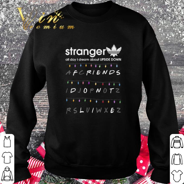 Pretty Adidas Stranger all day I dream about Upside Down