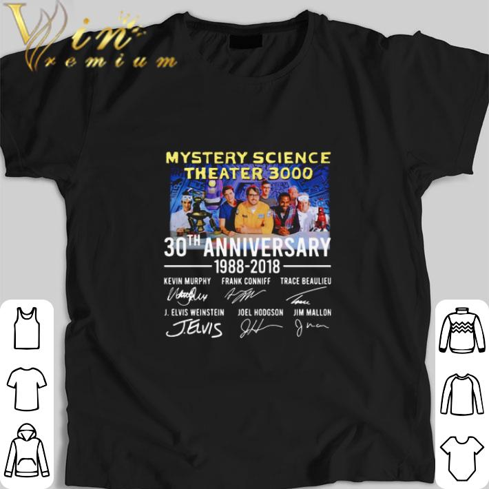 Pretty Mystery Science Theater 3000 30th anniversary 1988-2018 shirt