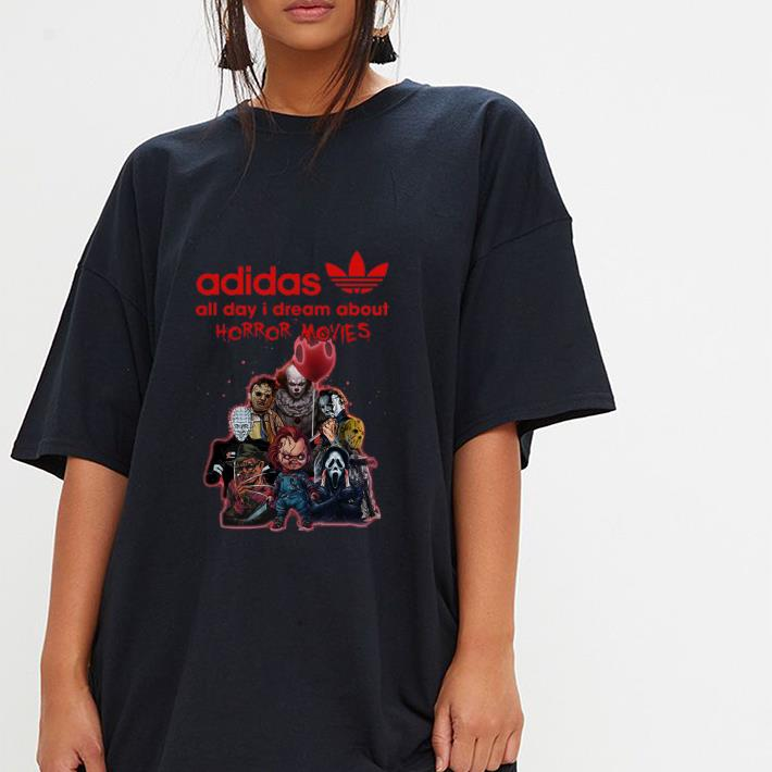 Awesome Adidas All Day I Dream About Horror Movie Horror Character Shirt 3 1.jpg