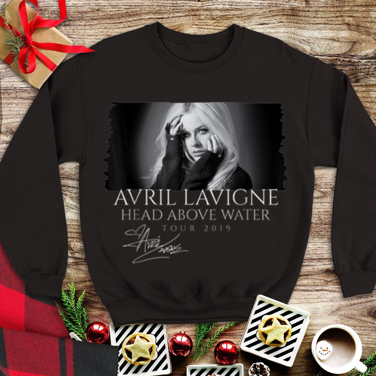 Awesome Avril Lavigne Head Above Water Tour 2019 Signature shirt