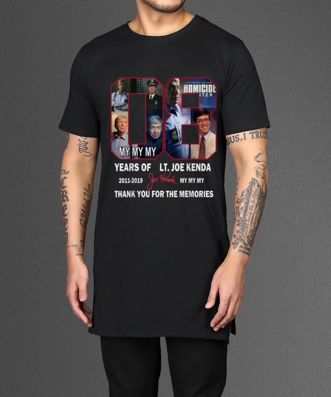 Nice Thank You For The Memories Lt Joe Kenda 08 Years Signature Shirts 2 1.jpg
