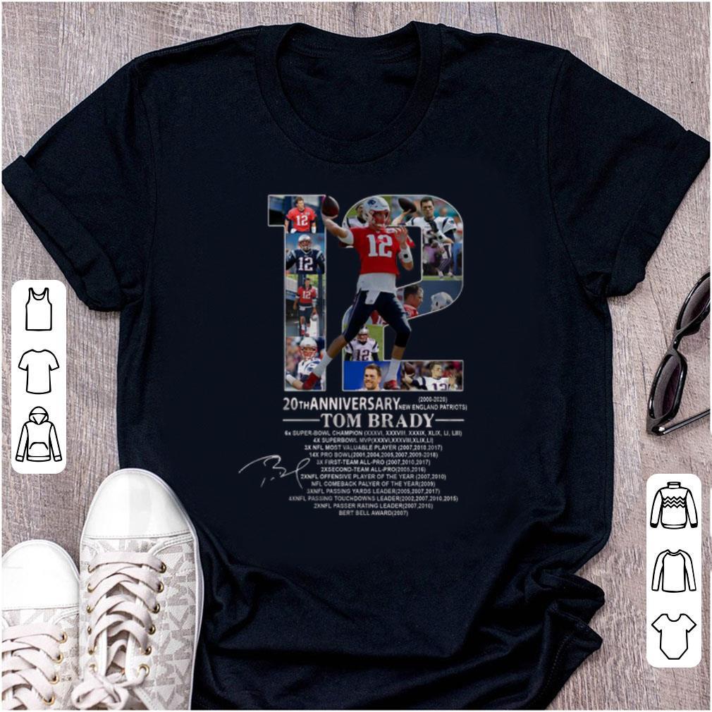 New England Patriots 2020.Top 20th Anniversary Tom Brady New England Patriots 2020