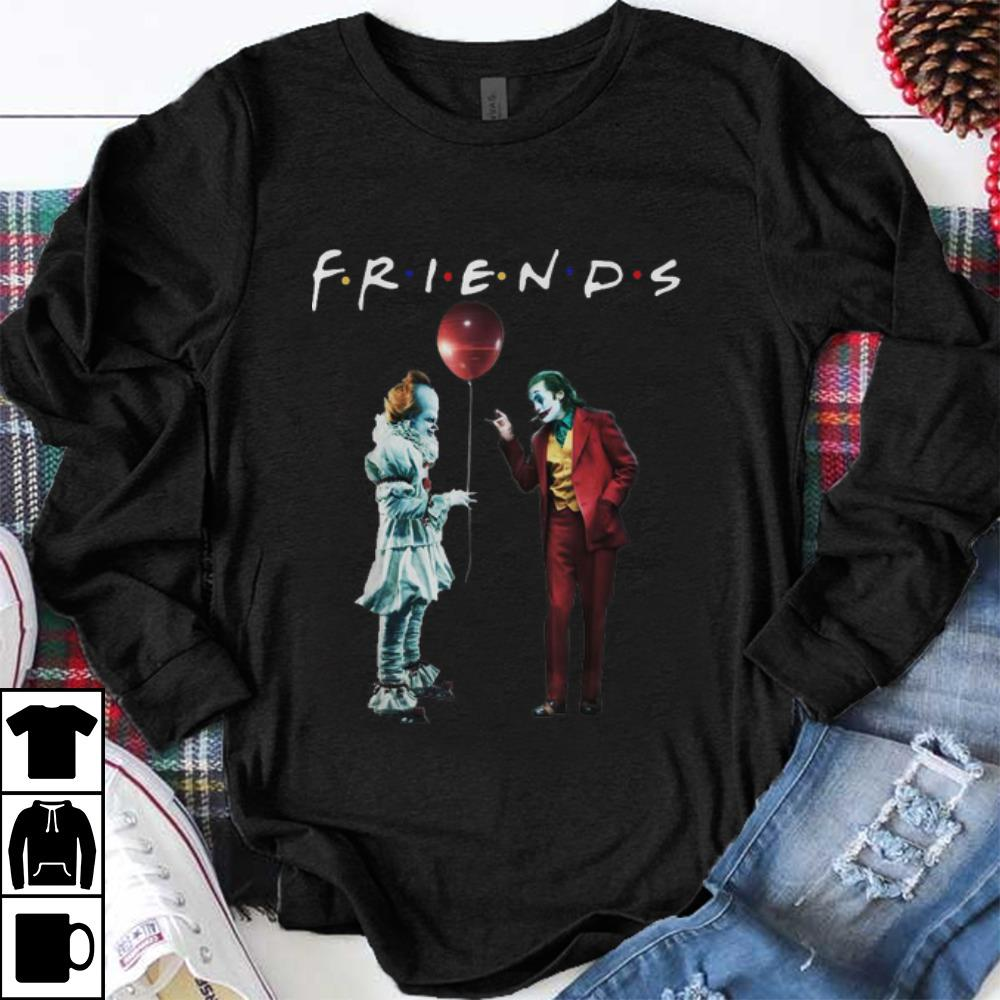 Top Friends Pennywise With Joker shirt