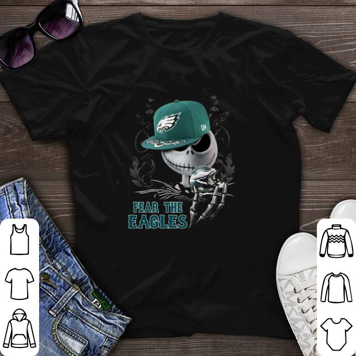 Top Jack Skellington Fear the Philadelphia Eagles shirt