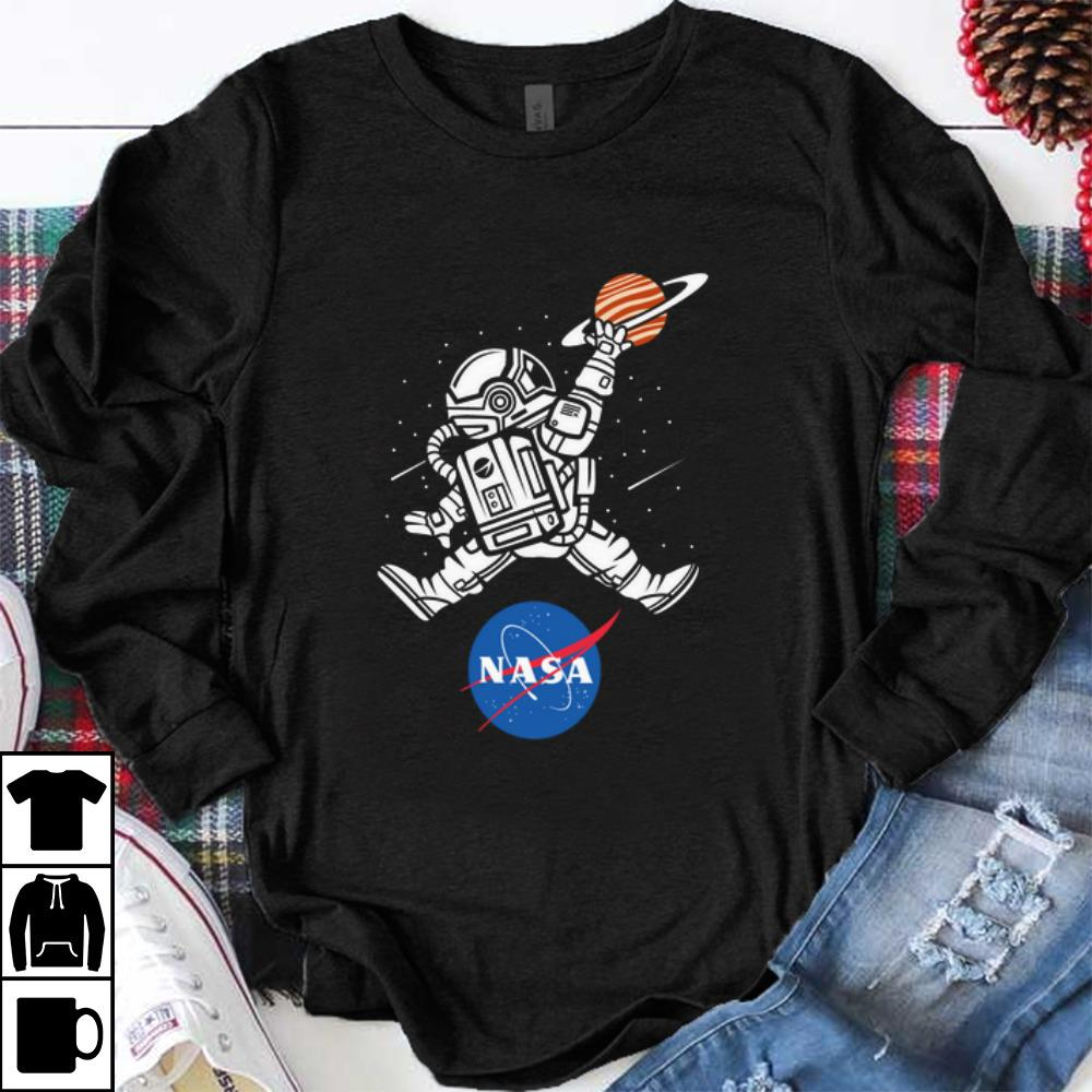 Awesome Astronaut Basketball League Slam Dunk Nasa shirt