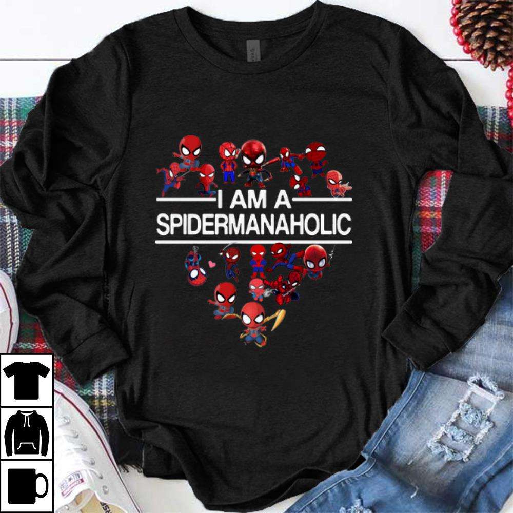 Awesome I am a Spidermanaholic shirt
