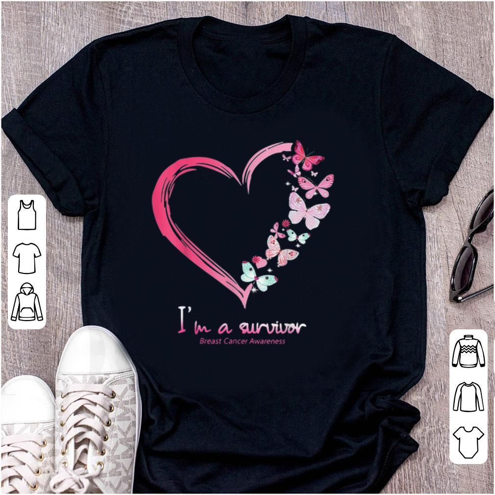 Nice I'm A Survivor Breast Cancer Awareness shirt