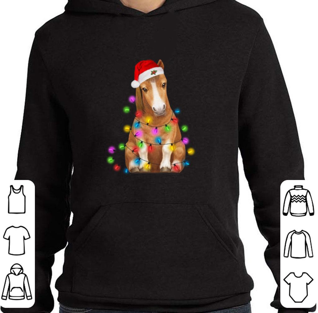 Christmas horse merry and bright shirt