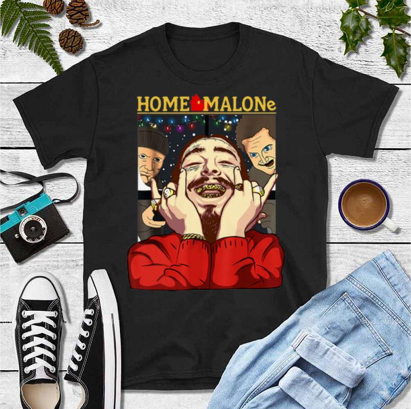Top Post Malone Home Malone Christmas Shirt, Hoodie