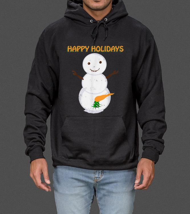 Awesome Naughty Dirty Carrot Snowman Funny Ugly Christmas Gift sweater
