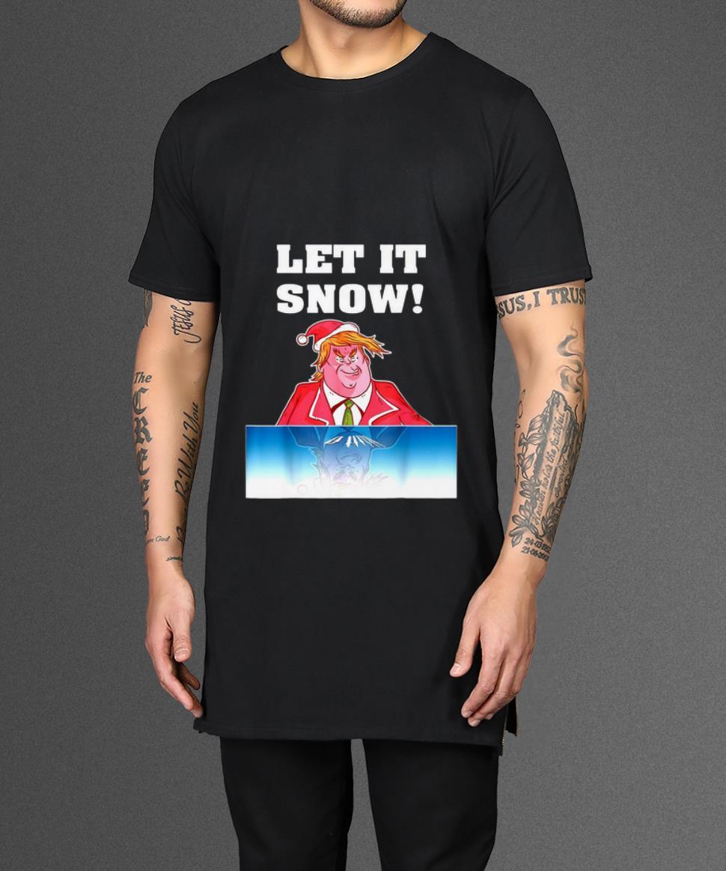 Premium Trump Cocaine Santa Let It Snow Christmas Shirt 2 1.jpg