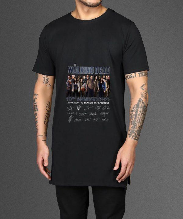 Pretty The Walking Dead 10 Season 147 Episodes Signatures Shirt 2 1.jpg
