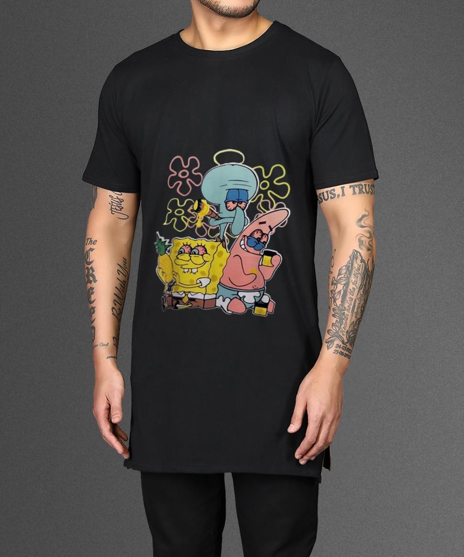 Top Spongebob Patrick Star And Squidward Tentacles Shirt 2 1.jpg