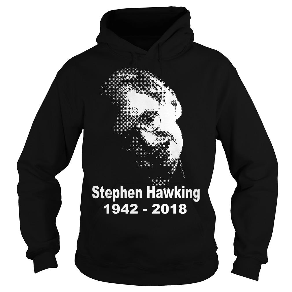 2 Rip Stephen Hawking 19422018 Hoodie