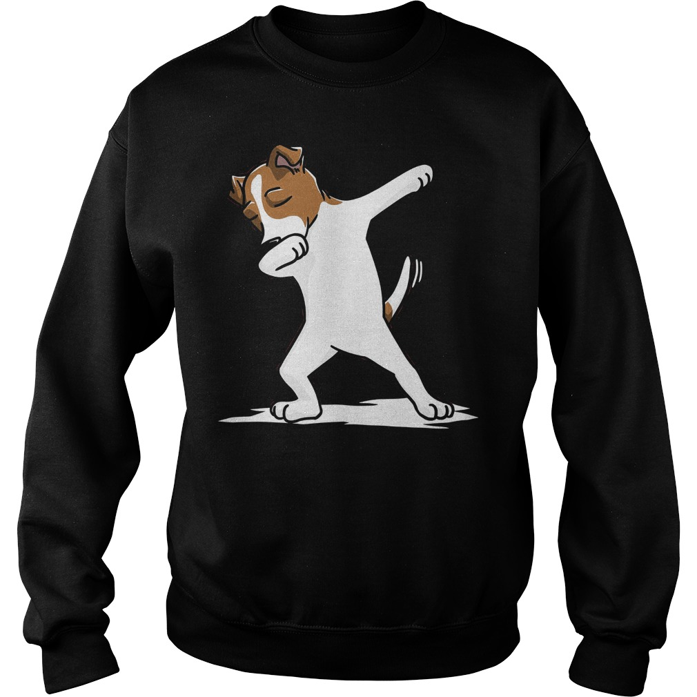 Dabbing Jack Russell Dog Sweater